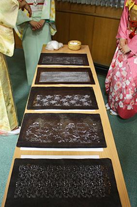 江戸小紋の型紙