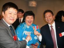 モンゴル大統領夫人2