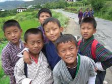 ブータン子供達