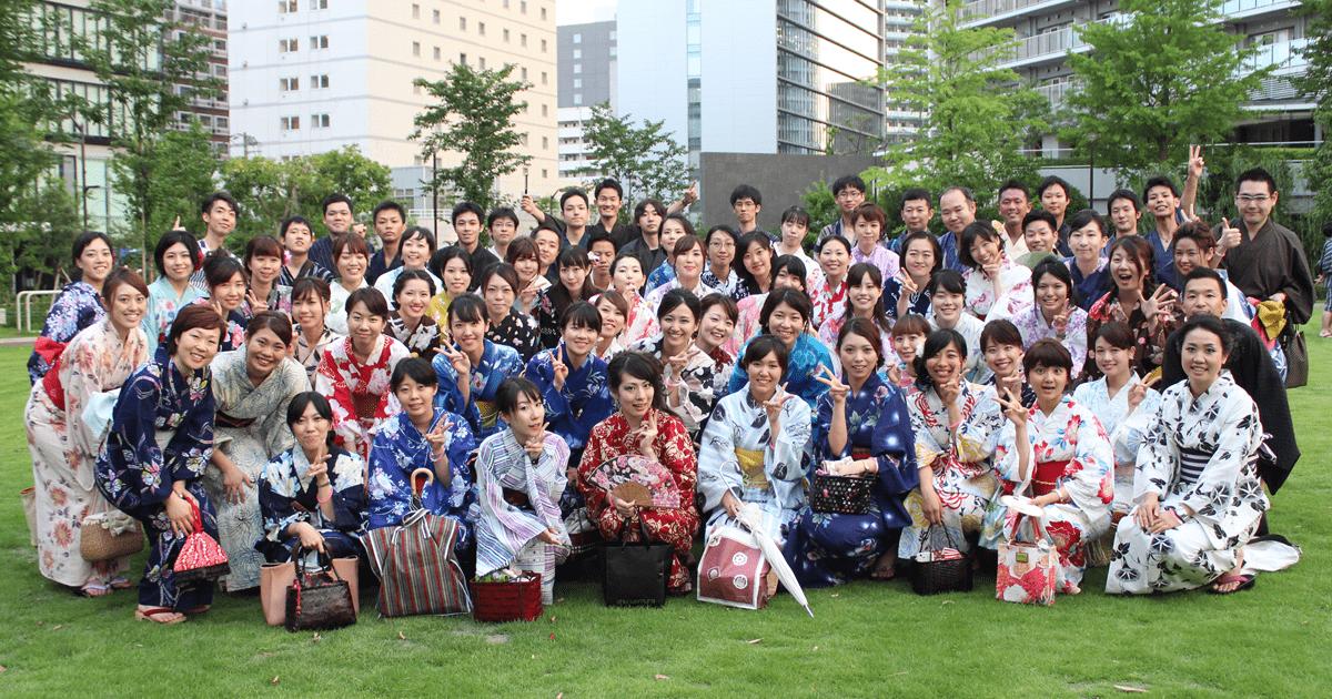 日本最大級の屋形船イベント〜浴衣姿の若者600名が集結
